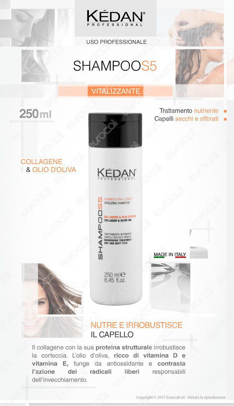 Kédan shampoo vitalizzante