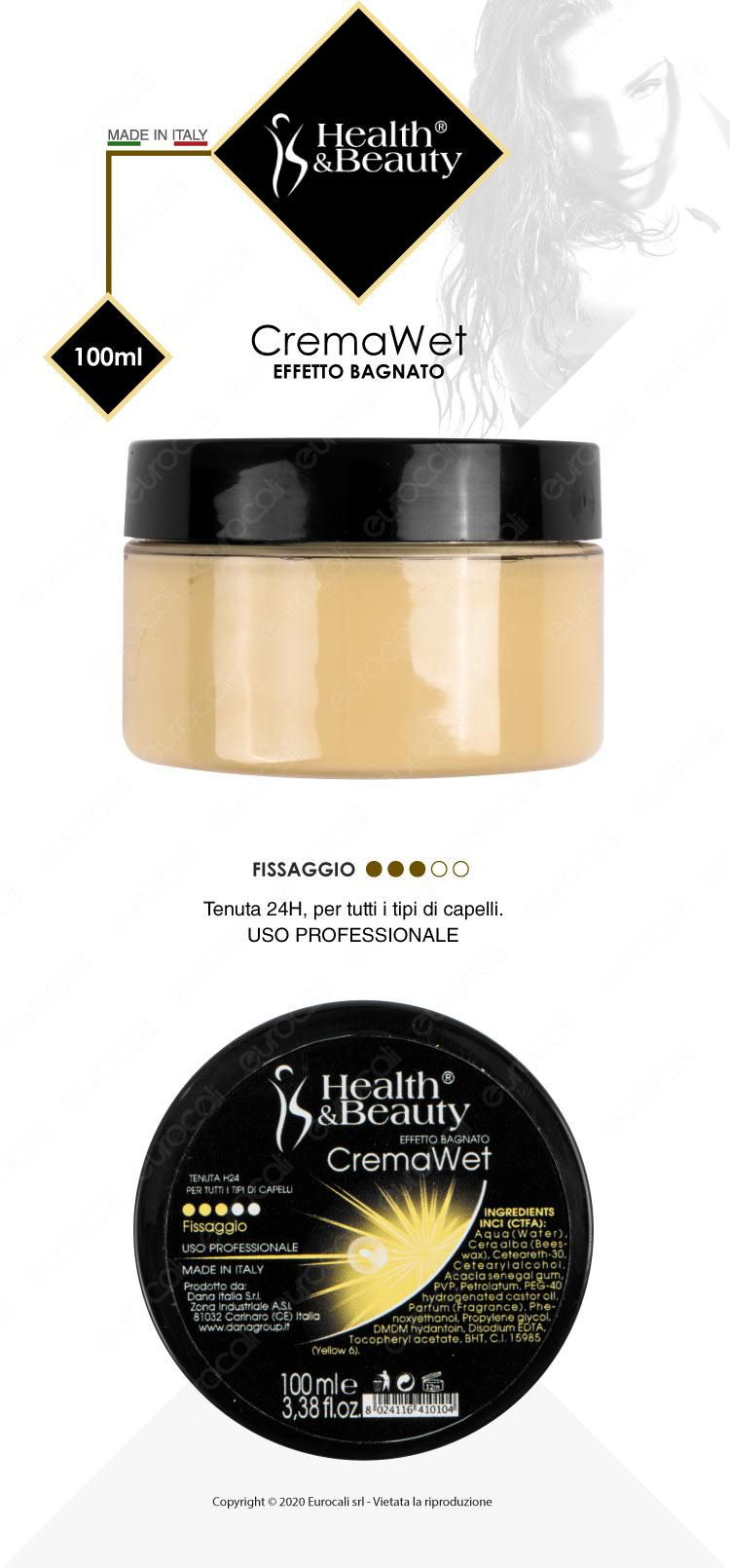 Health & Beauty Crema Wet