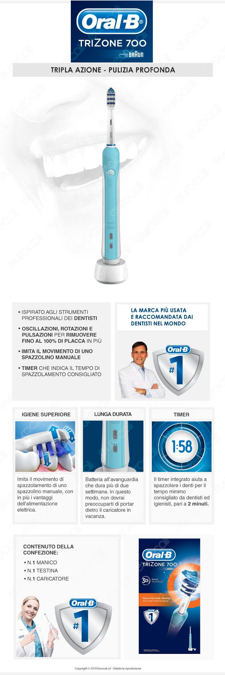 Oral-B Spazzolino Elettrico Smart 4 4000N