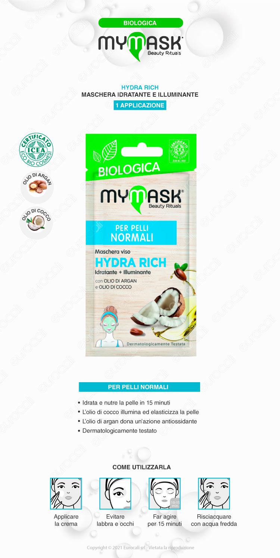 mymask Maschera biologica hydra rich