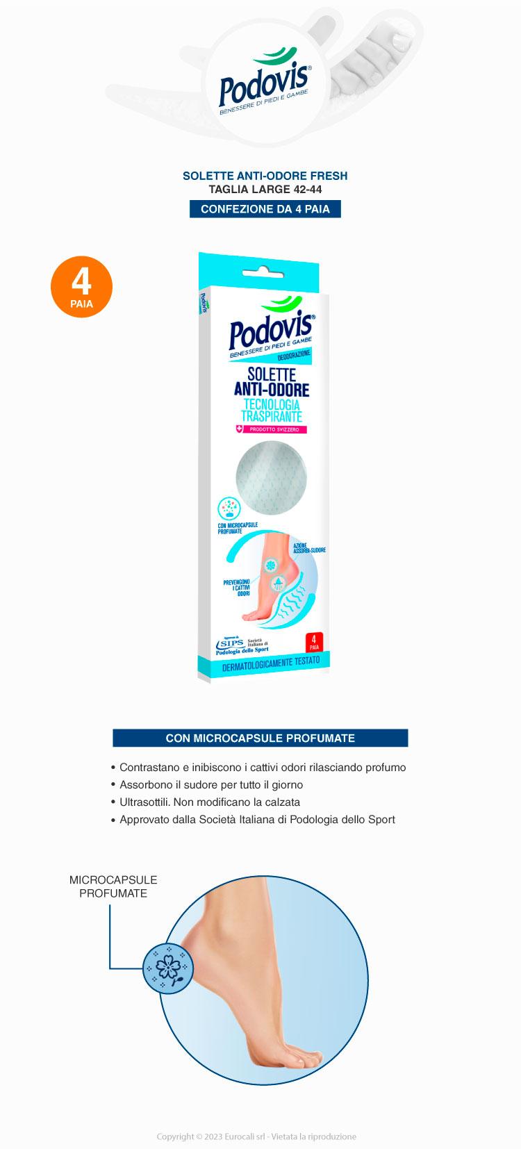 podovis solette small antiodore