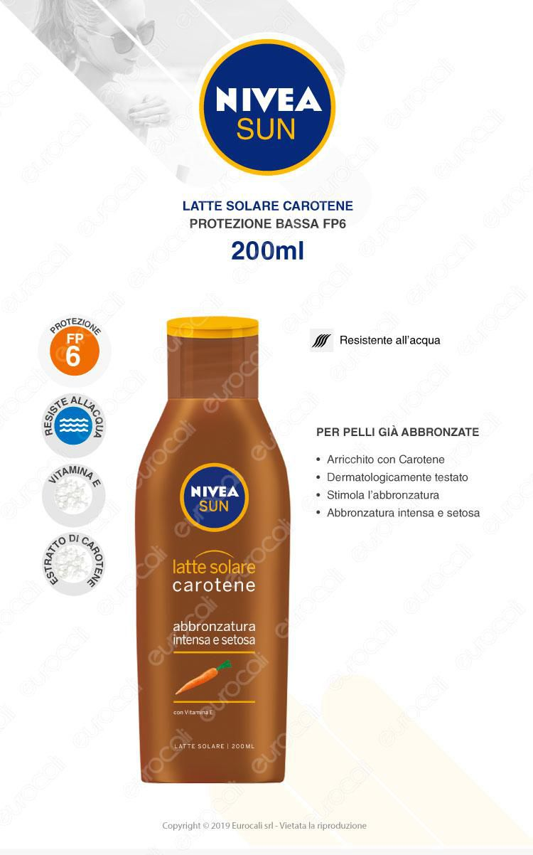 Nivea Latte Solare Carotene