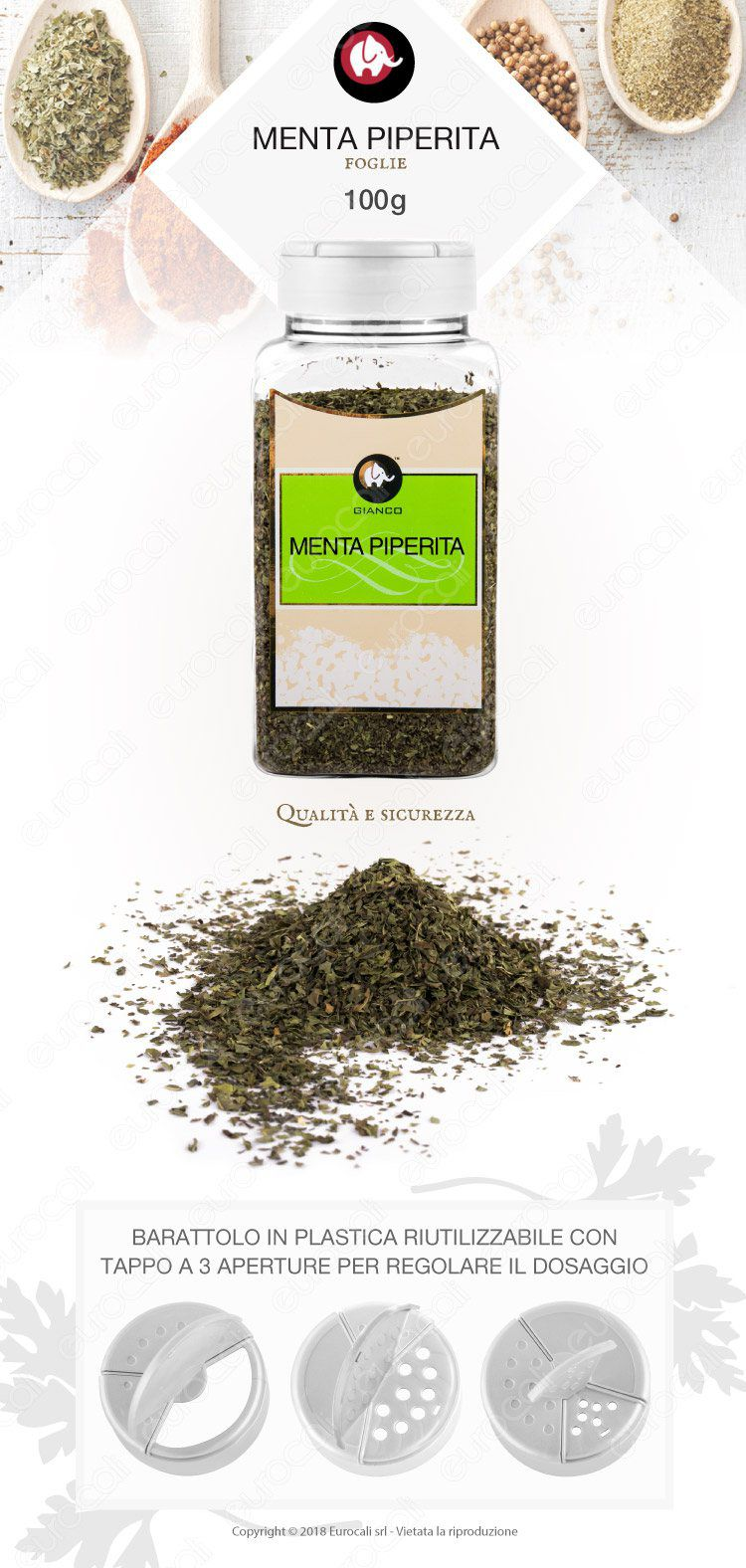 Gianco Menta Piperita Foglie
