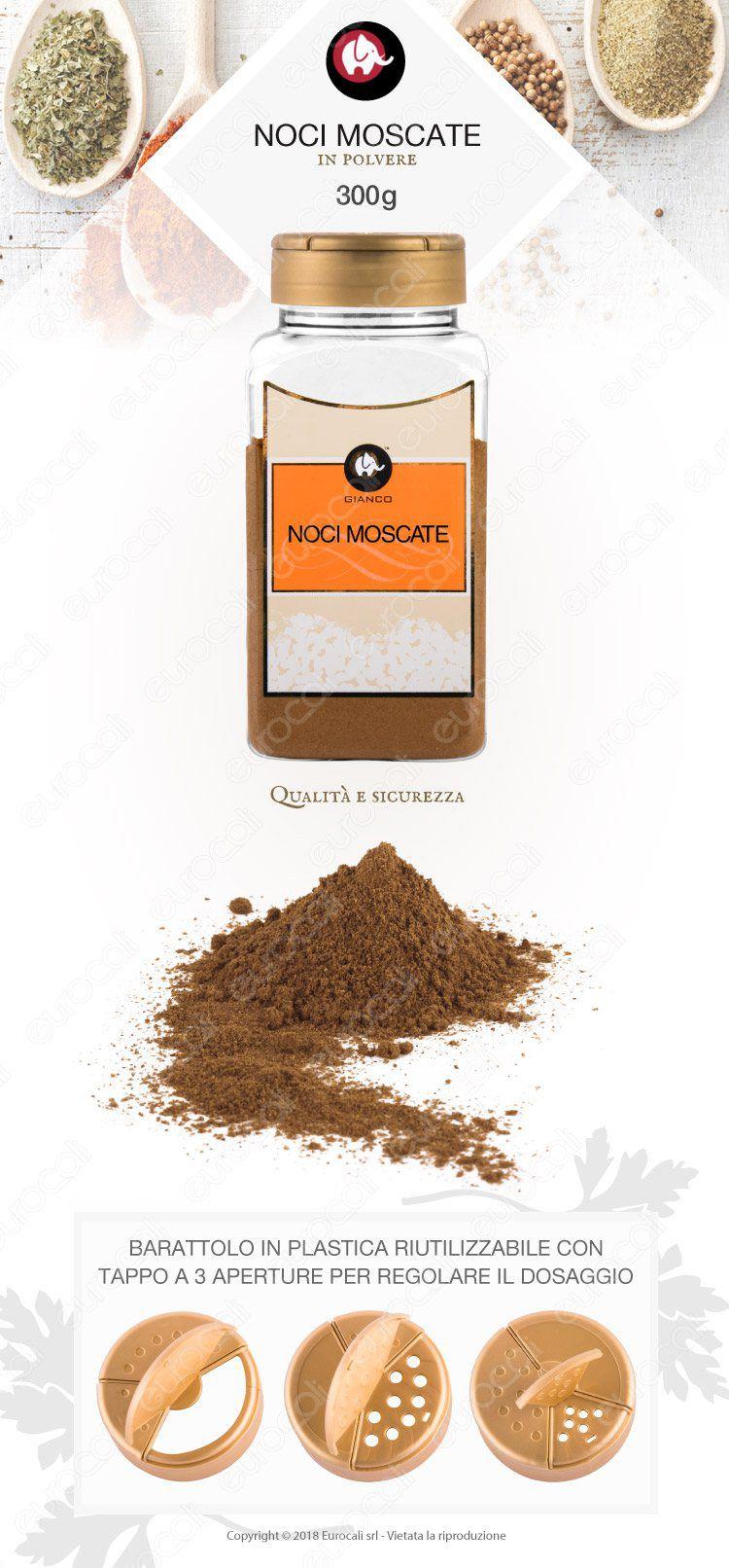 Gianco Noci Moscate Polvere