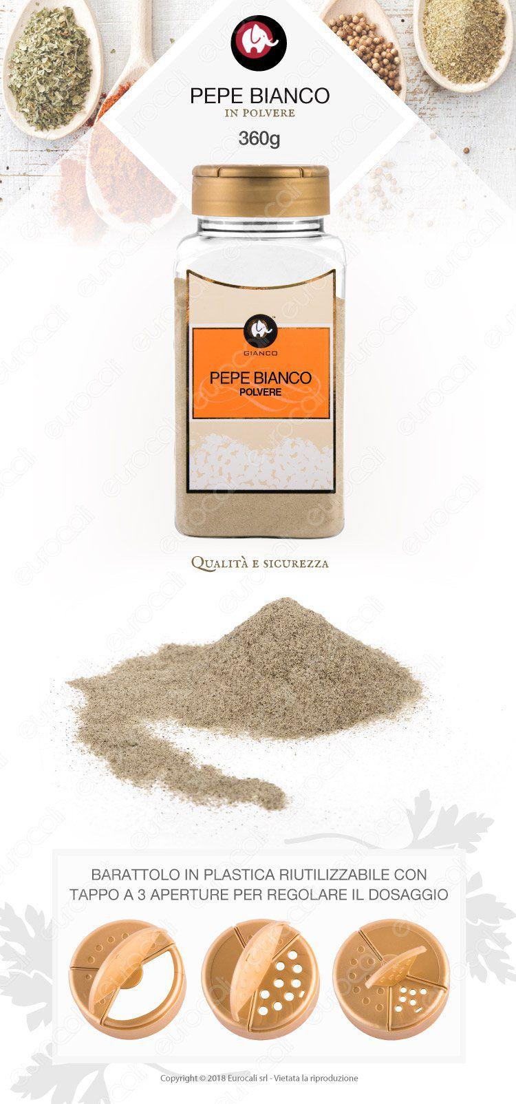 Gianco Pepe Bianco Polvere