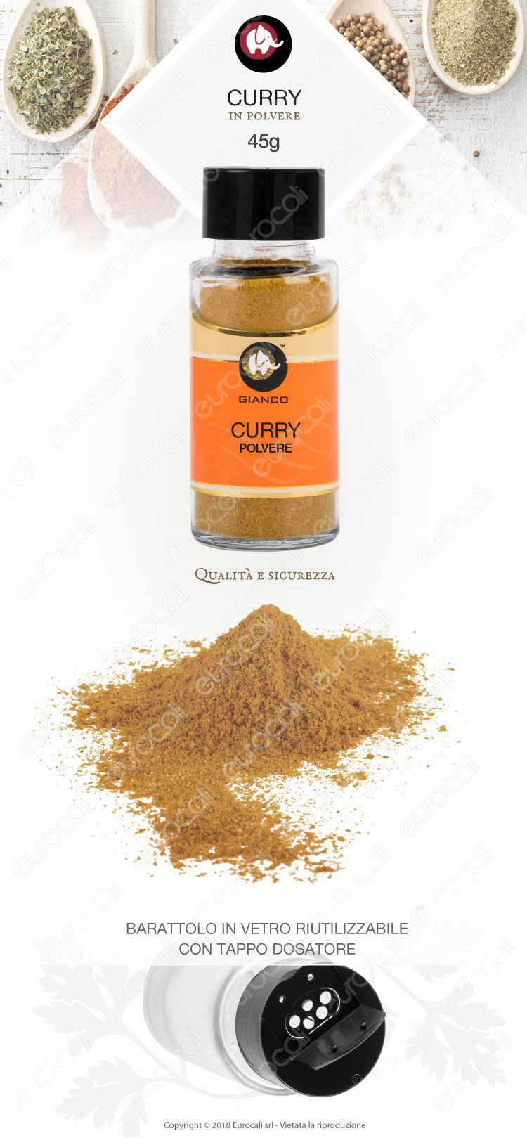 Gianco Curry Polvere