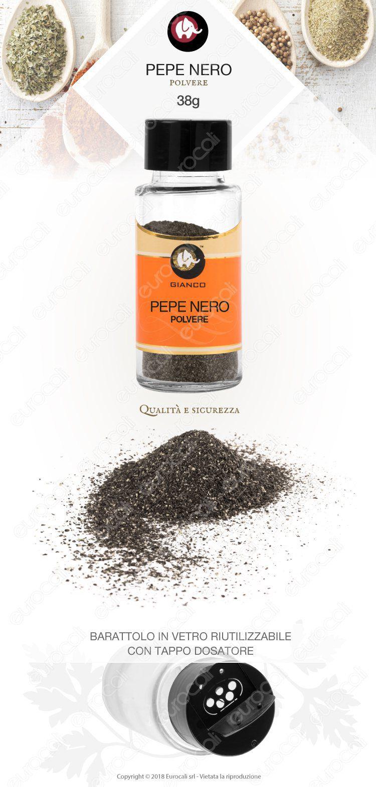 Gianco Pepe Nero Polvere