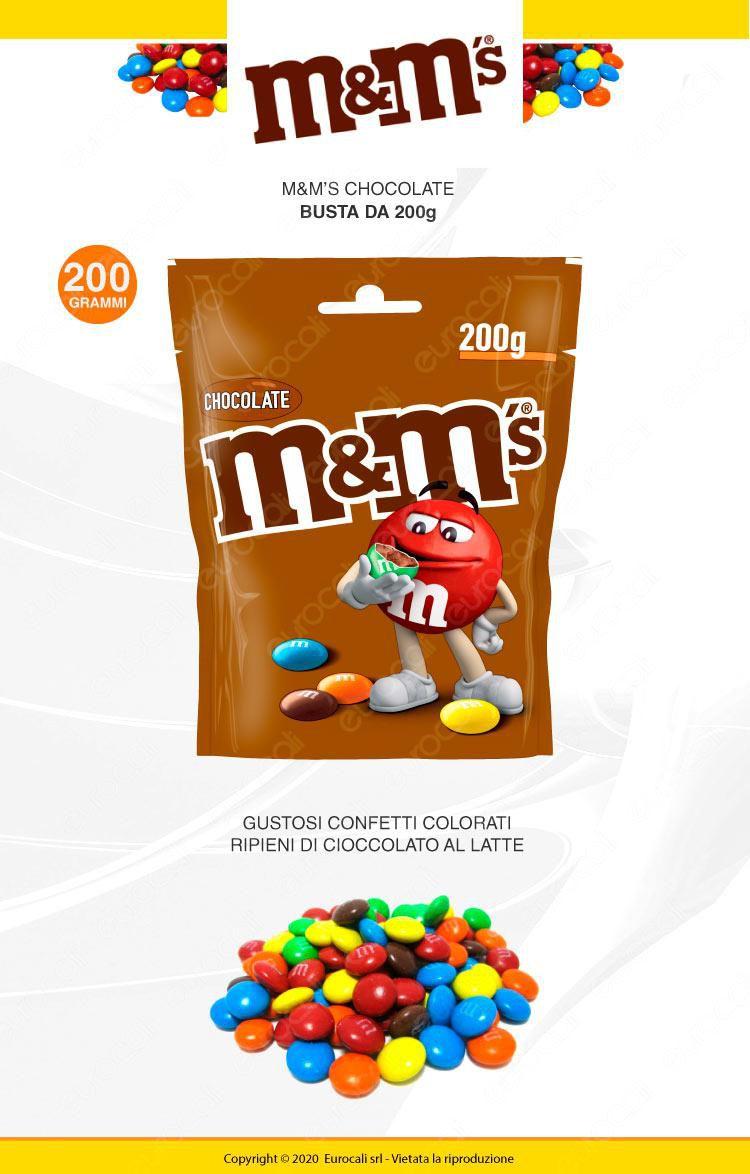 M&M's Choco Confetti con Morbido Cioccolato - Busta da 200g