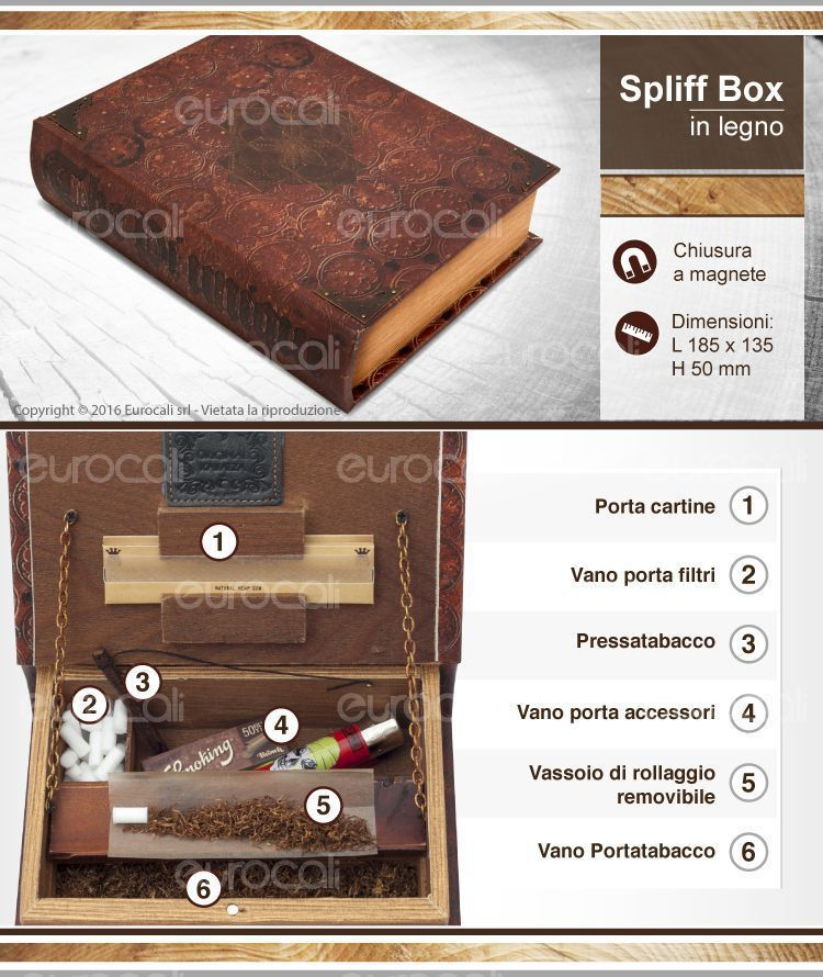 spliff box mini antico