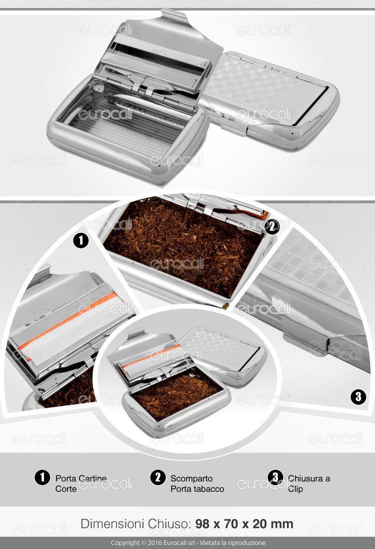 Bofil Portabacco in Metallo