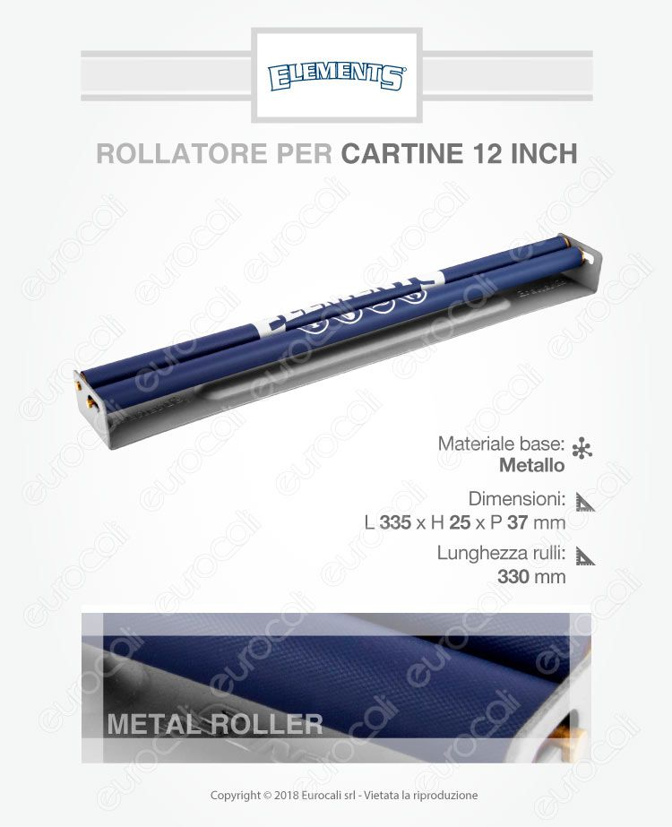 Rollatore 12 inch gigante Elements Giant Roller