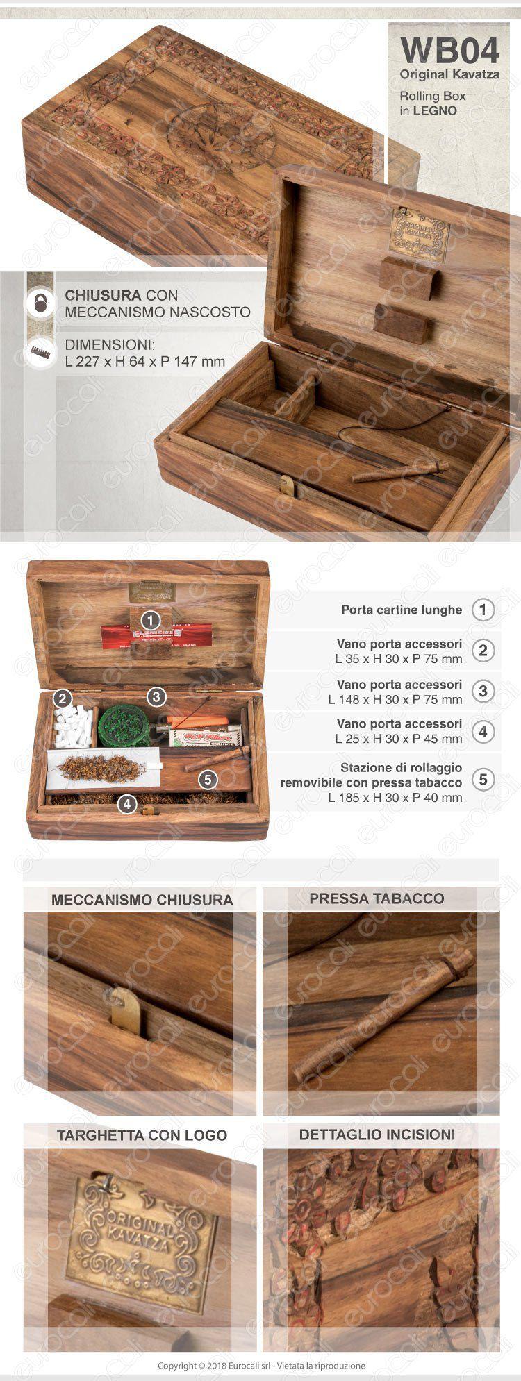 Holz Box Original Kavatza