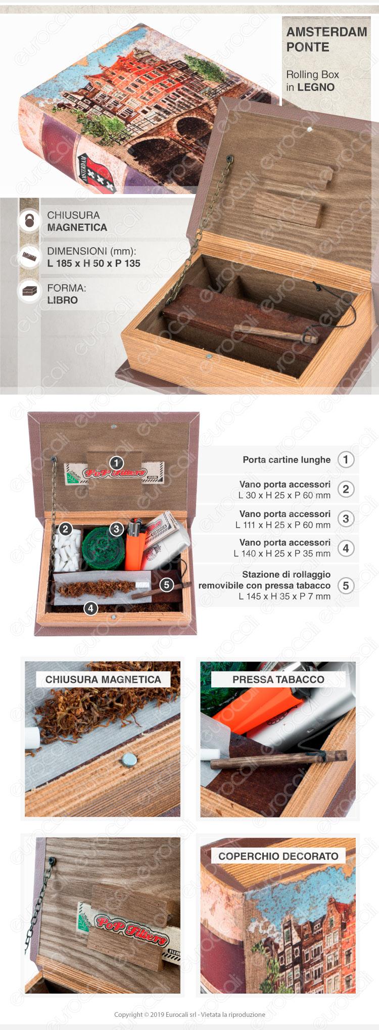 Spliff Box Stazione di Rollaggio