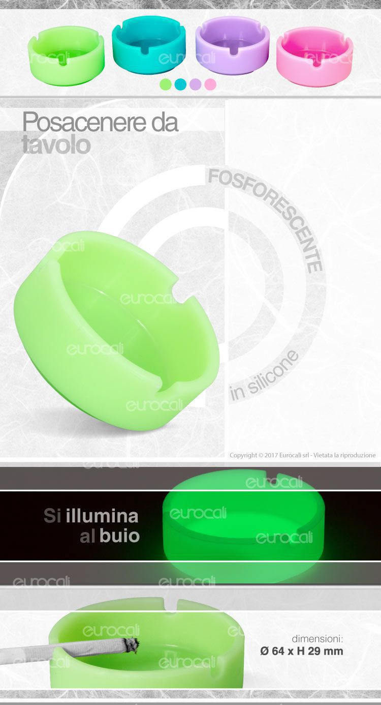 Posacenere silicone