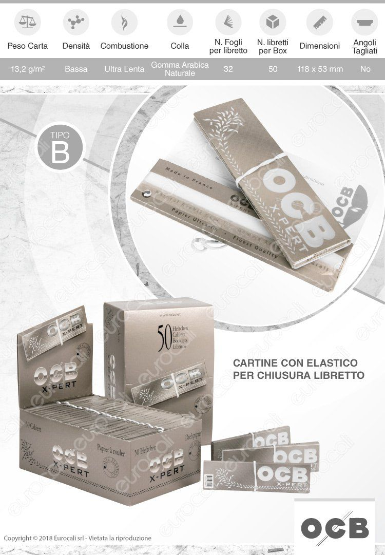 Cartine OCB argento King size xxl