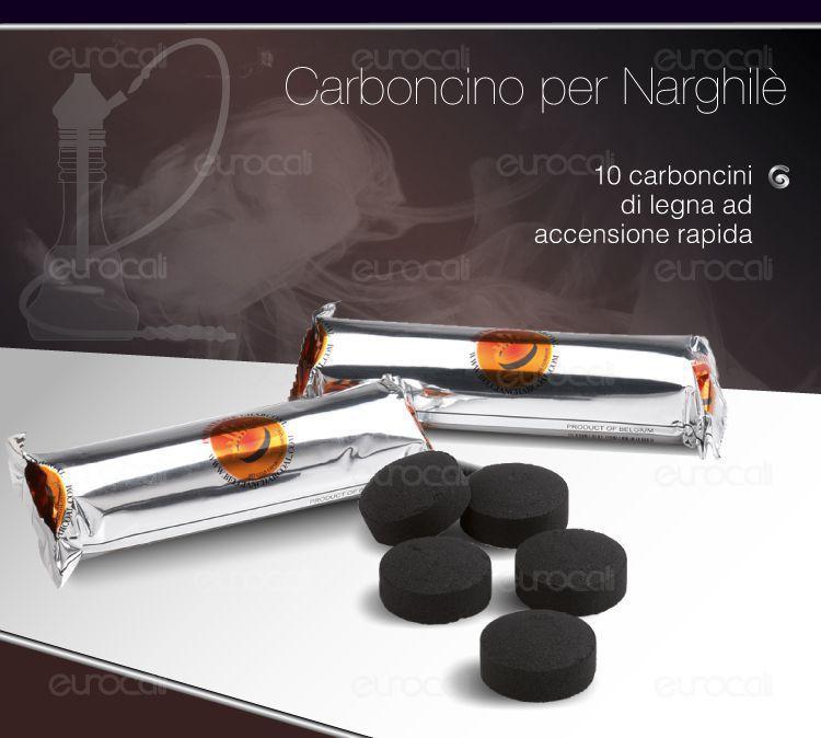 carboncini per narghilè