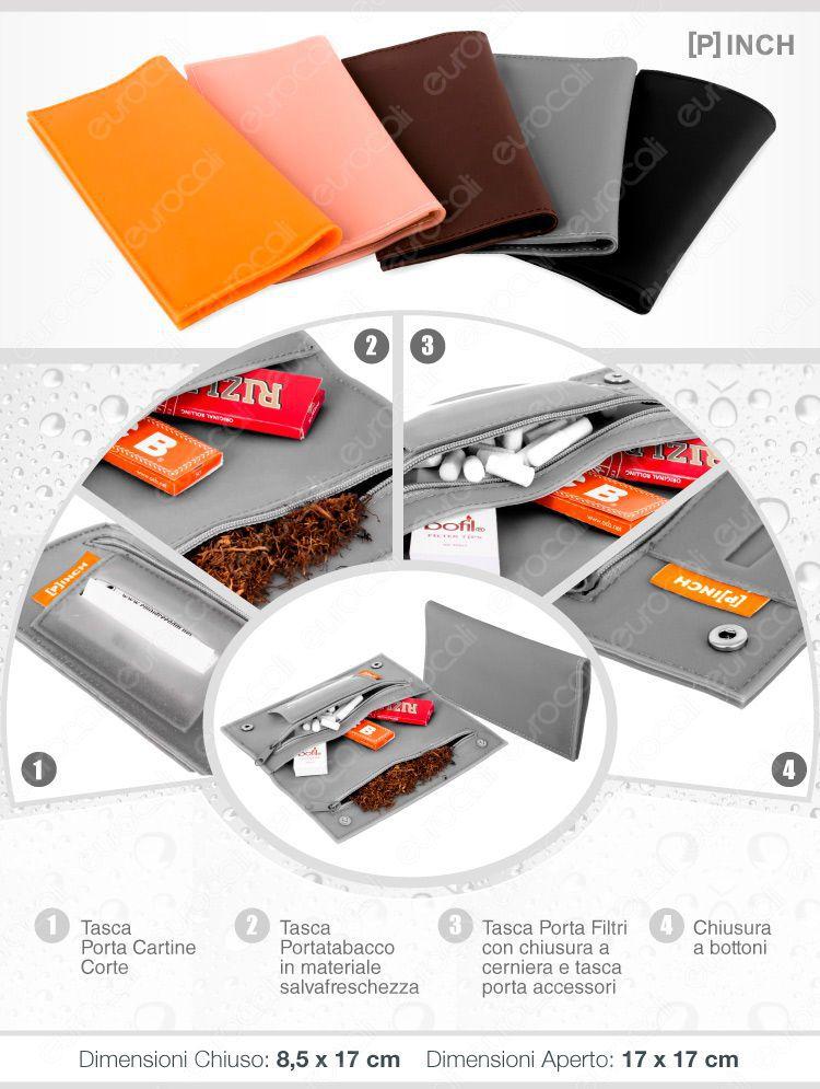 portatabacco pinch in silicone