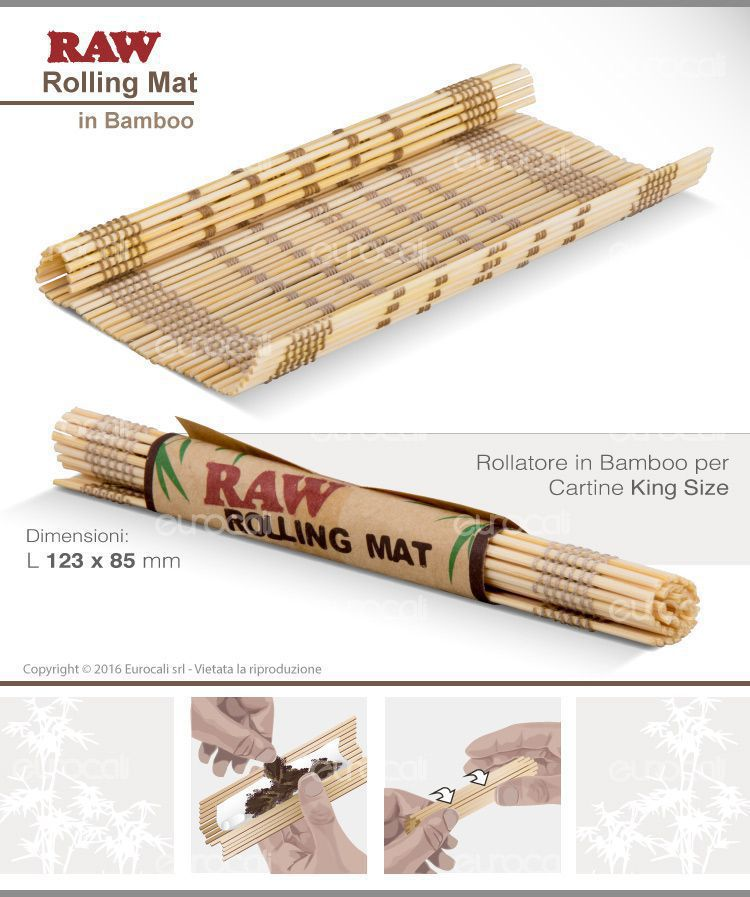 Rolling Tray Vassoio Rollaggio RAW
