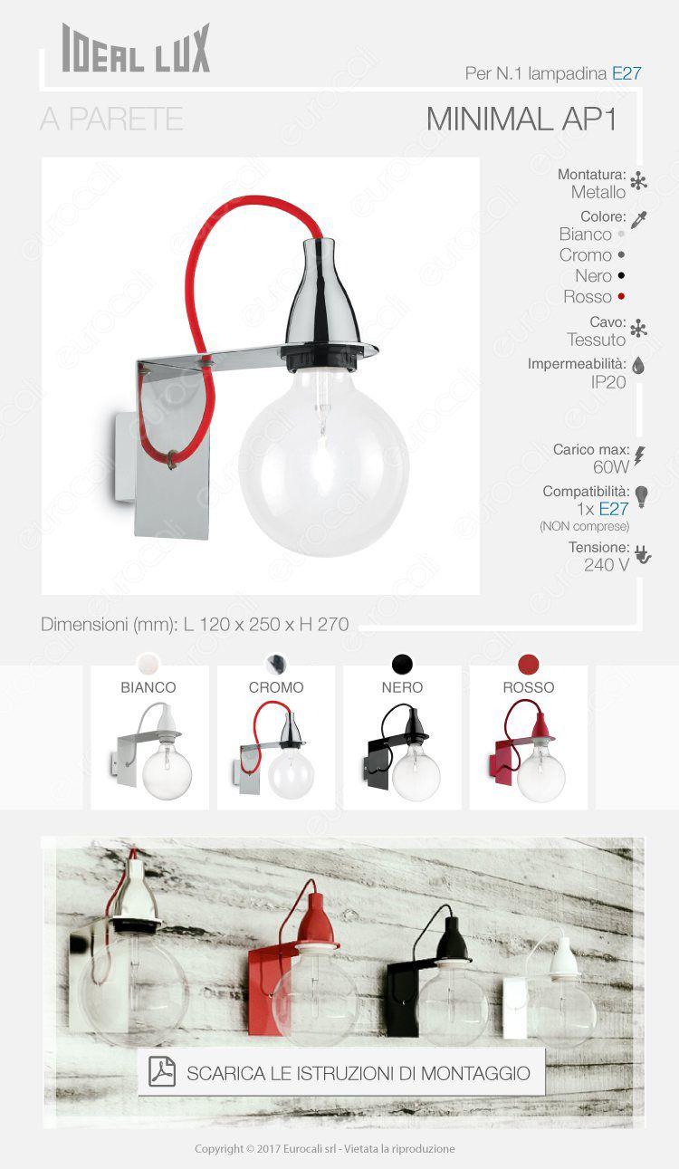 Porta lampada lampadario Ideal Lux
