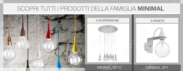 banner prodotti minimal ideal lux