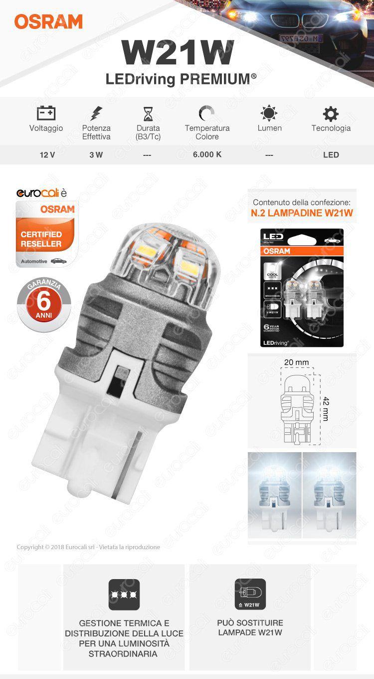 lampadina osram LEDriving premium t4w
