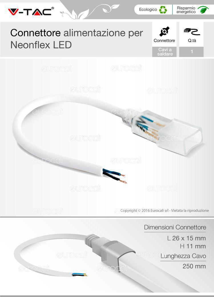 cavo connessione neon flex
