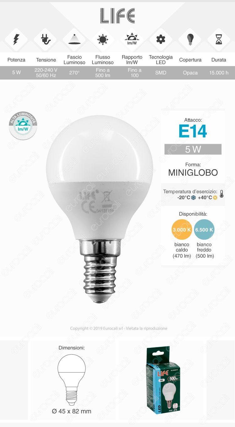 Lampadina LED Life E14