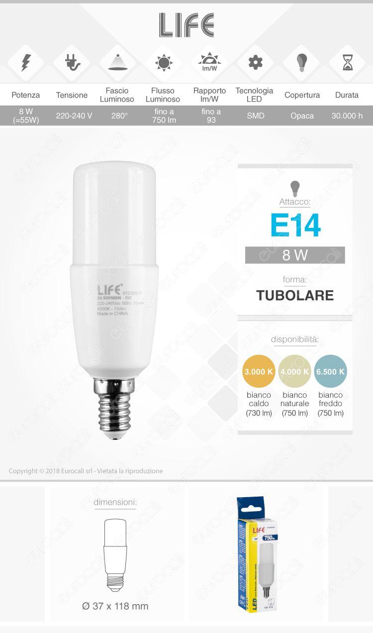 Life Lampadina LED E14