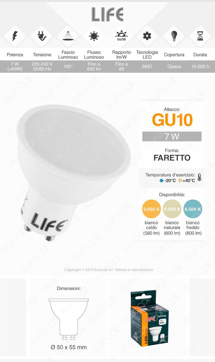 Life Lampadina LED GU10