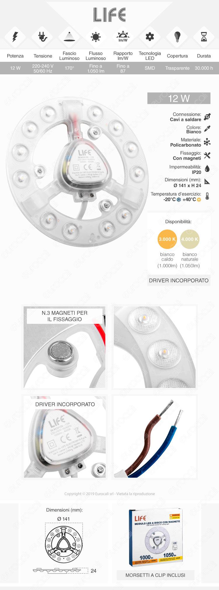 Life modulo LED