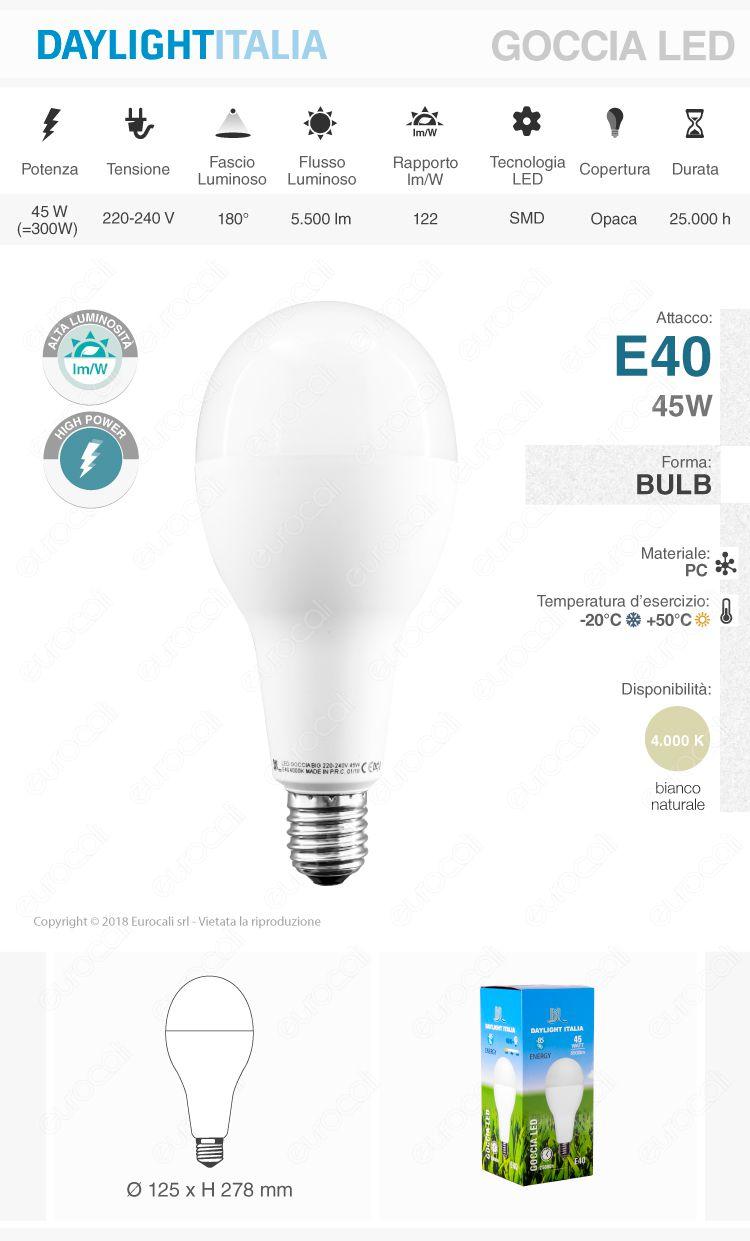 Lampadina LED Daylight