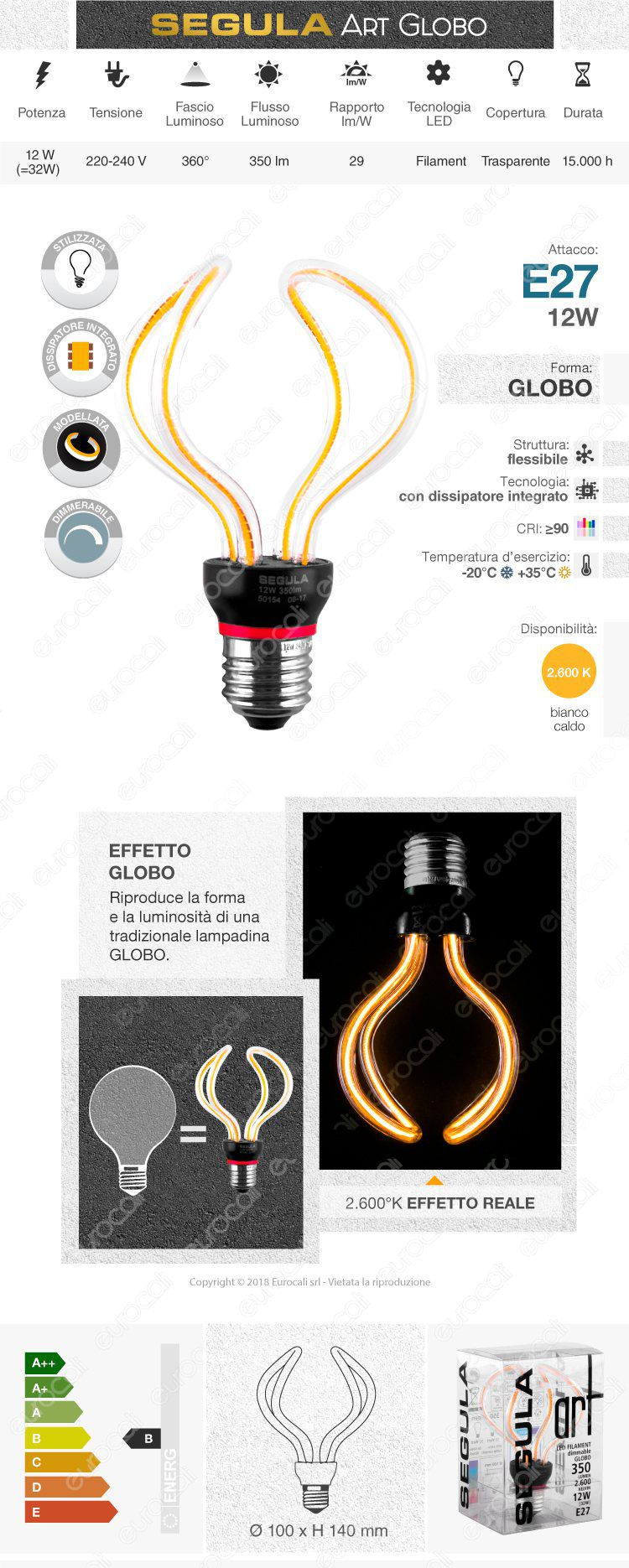 lampada led e27 segula