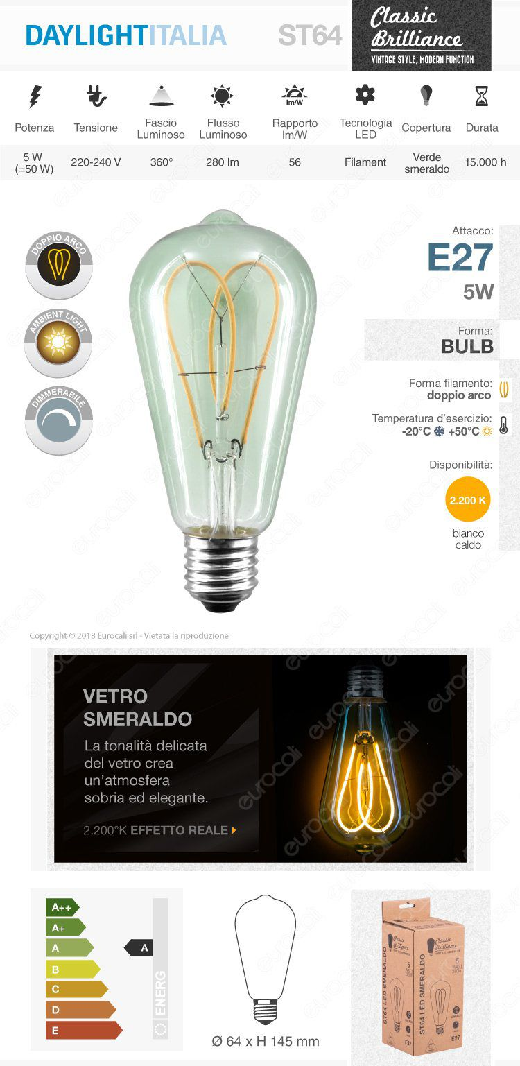 lampada led e27 daylight