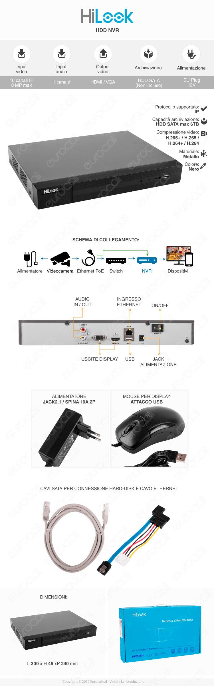 HiLook Network Video Recorder