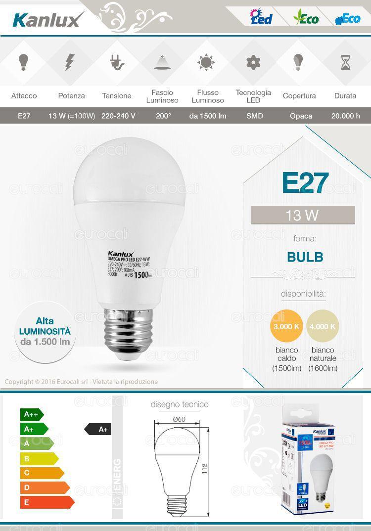 Lampadina LED Kanlux Bulb A60
