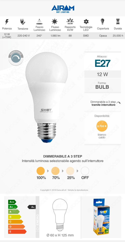 lampadina led bot lighting dimmer