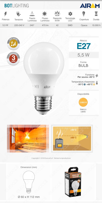 Lampadina LED Bulb BOTLIGHTING
