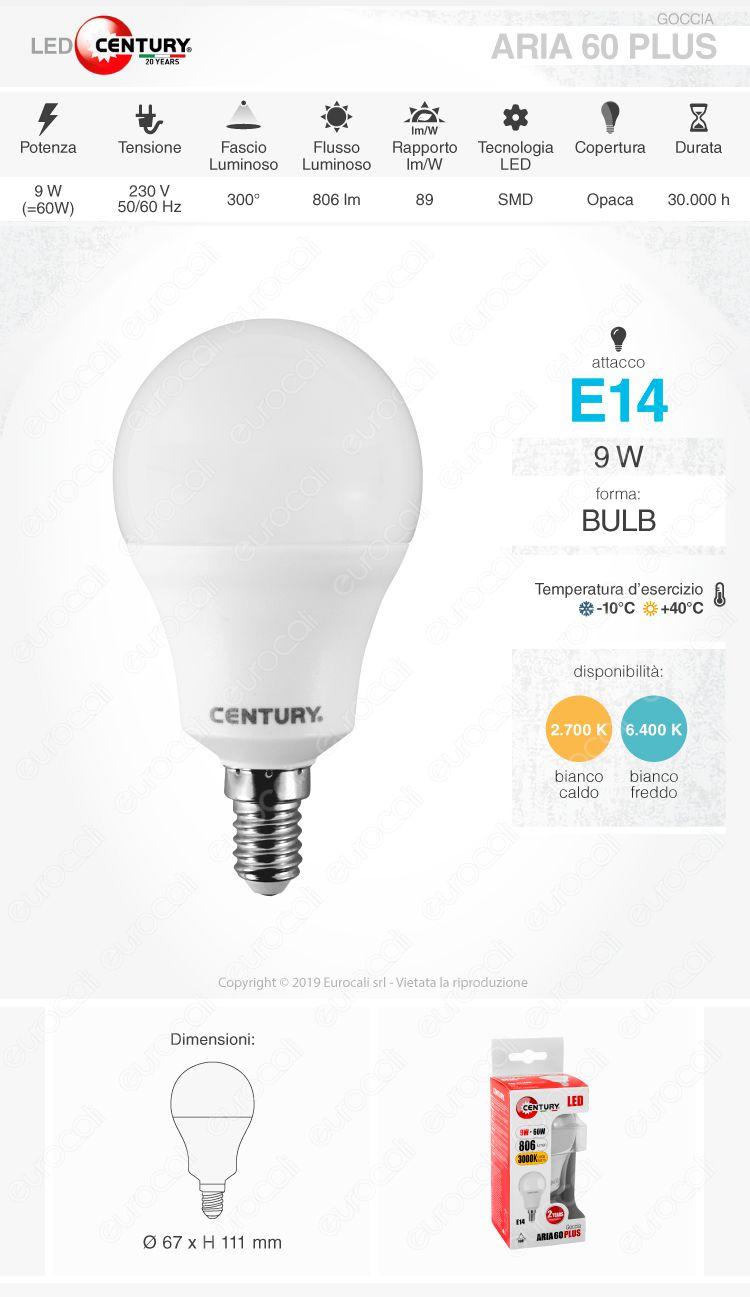 Century Lampadina LED E14