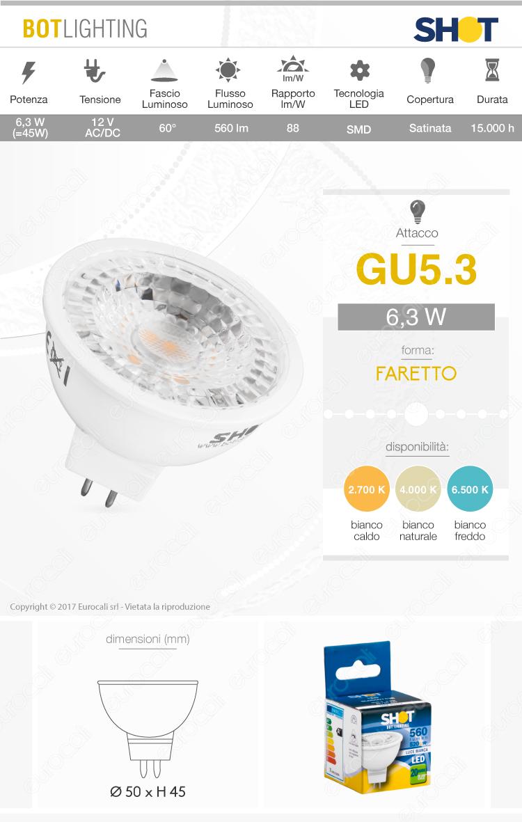 Bot Lighting Lampadina LED GU5.3
