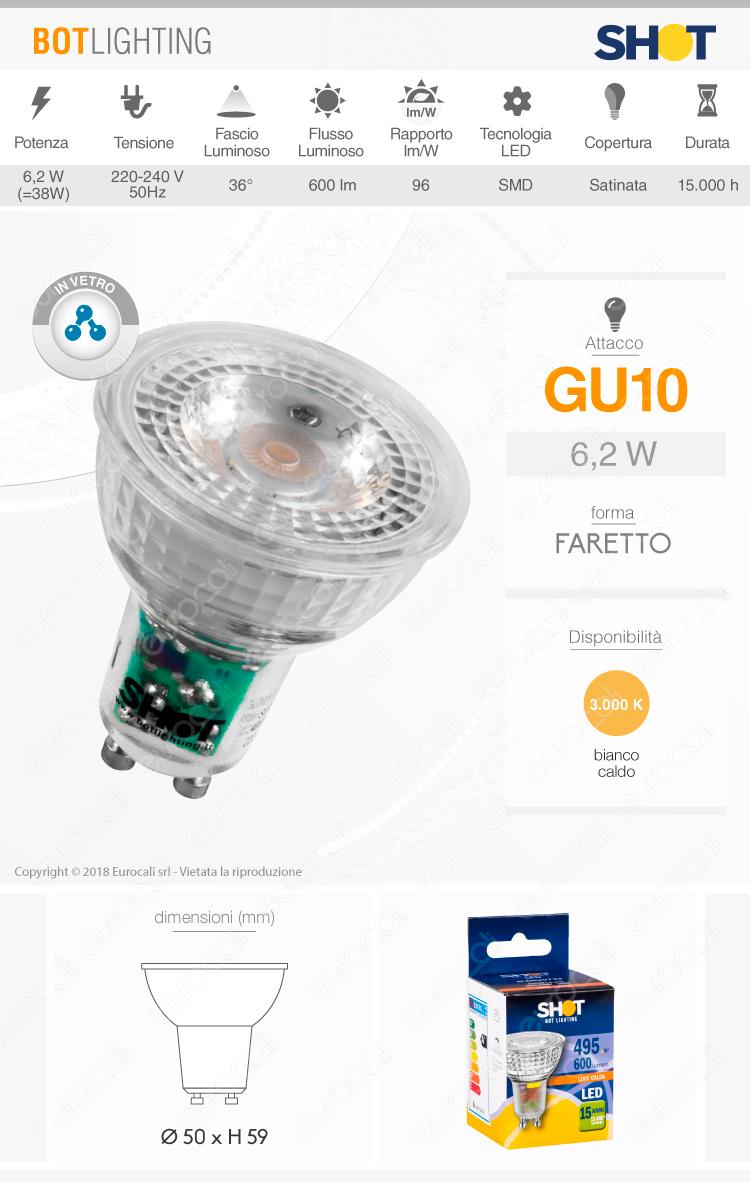 Lampadina LED Ideal Lux GU10
