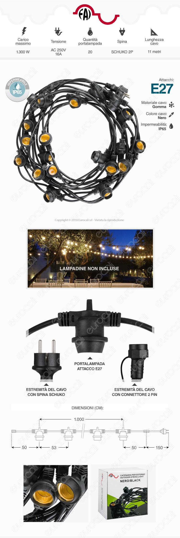 FAI Lampadina LED E27