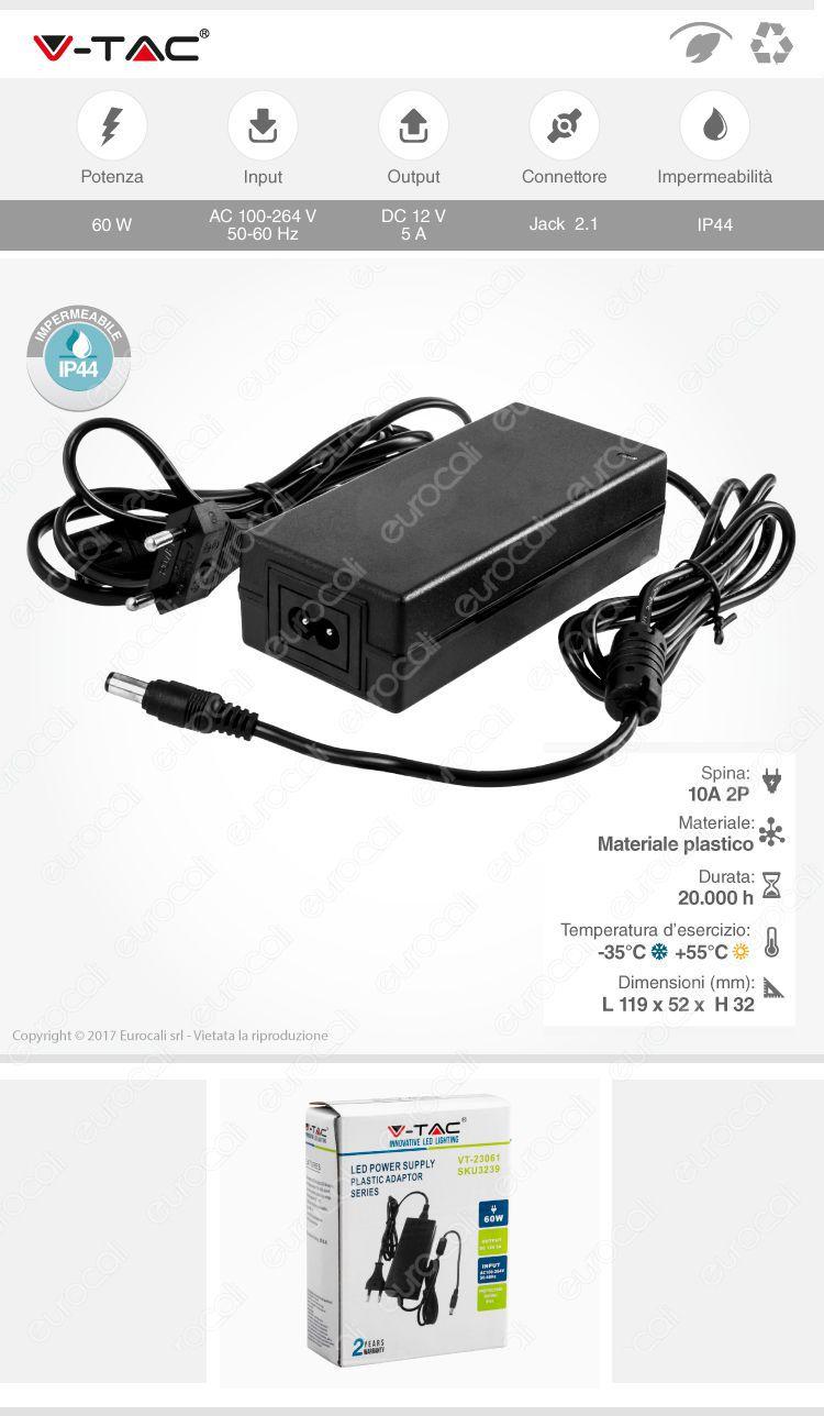 VT-23061 SKU3239 V-tac alimentatore