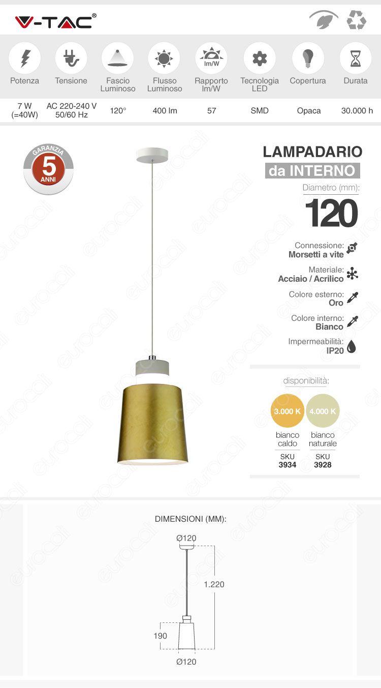 lampadario v-tac