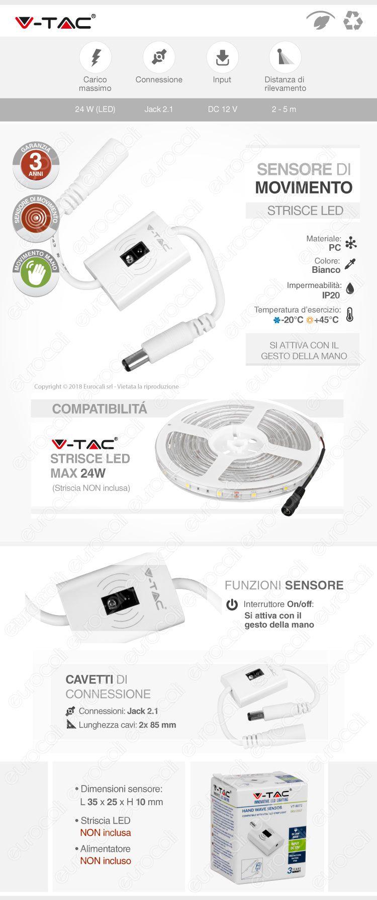 Sensore touch v-tac