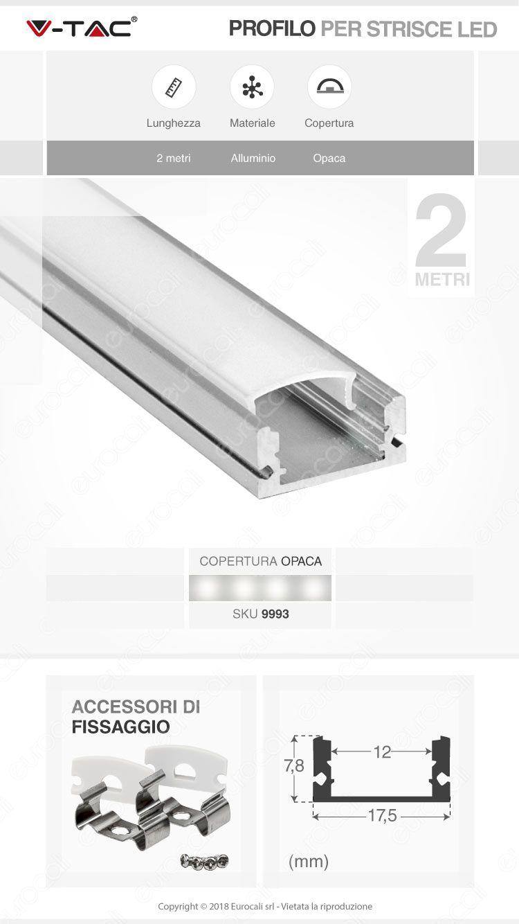 Profilo 2metri V-Tac
