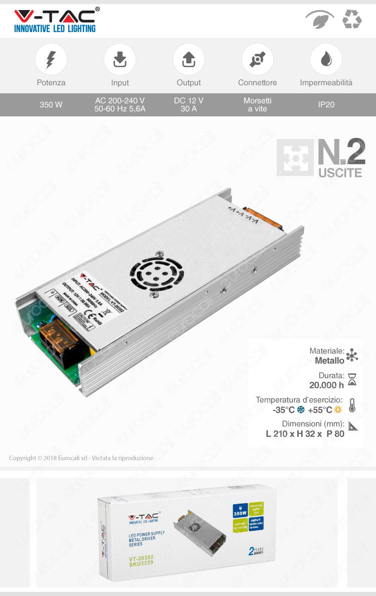 alimentatore 350W V-Tac