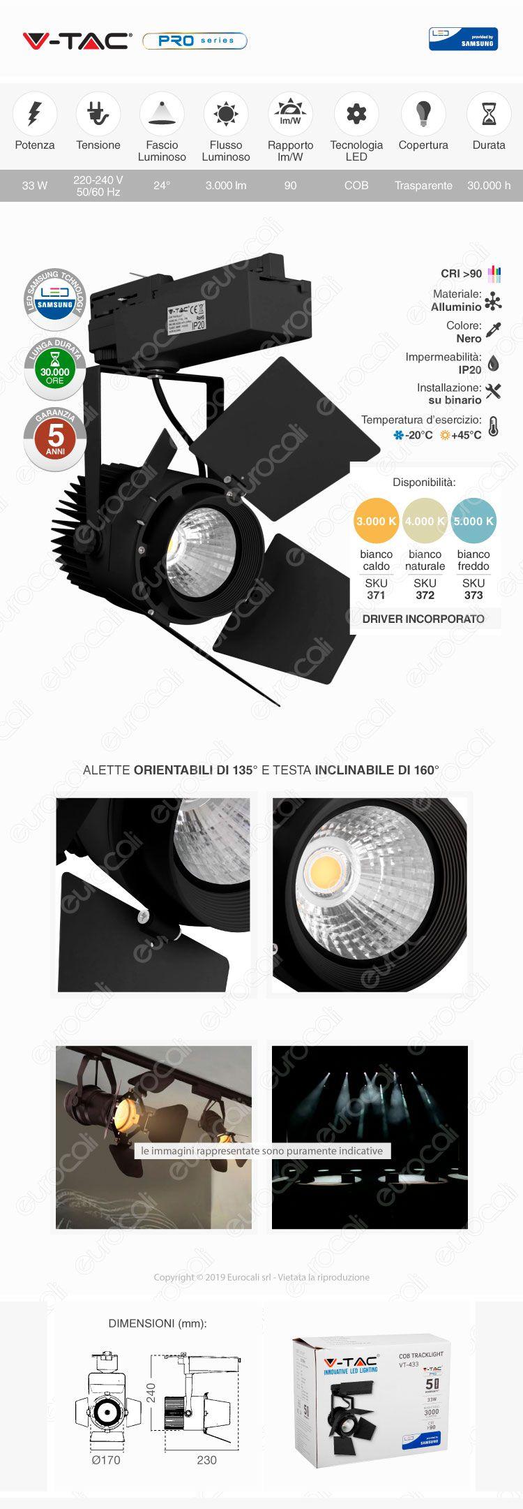 Lampada Tracklight
