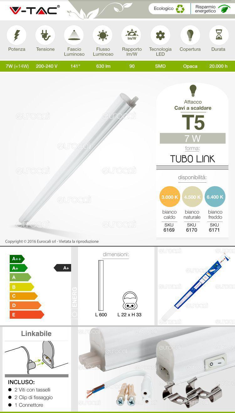 Tubo LED T5 Smd