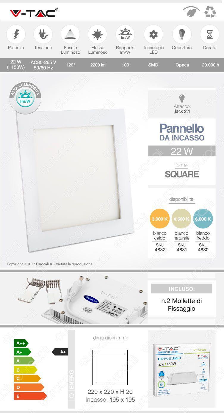 Mini Pannello V-Tac