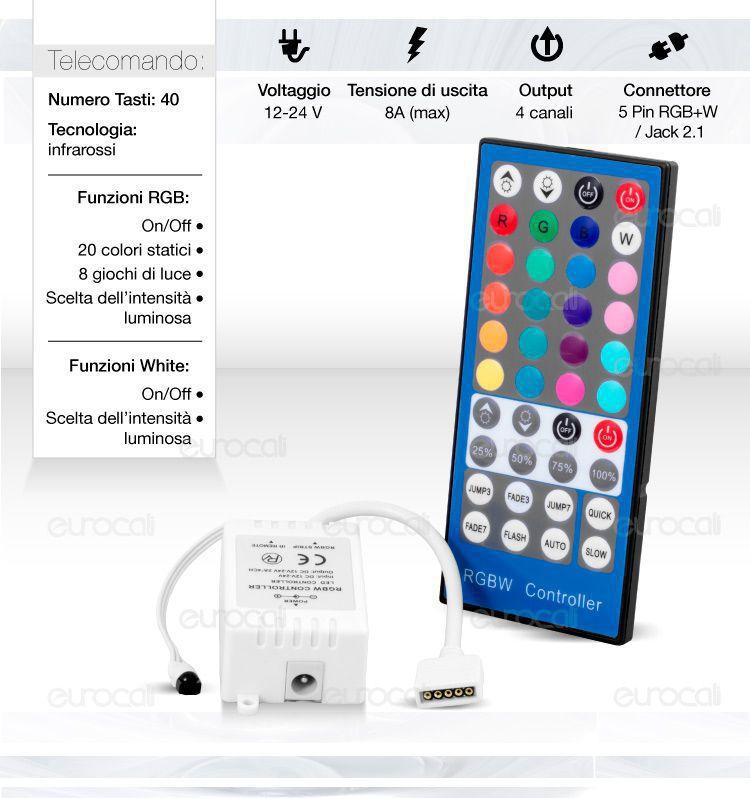 ir controller per strisce LED